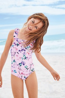 Floral Swimsuit (3-16yrs)
