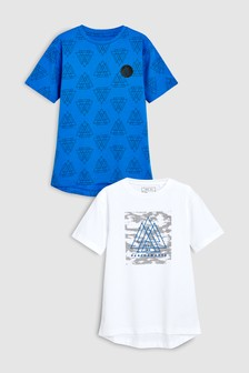 Sporty T-Shirts Two Pack (3-16yrs)