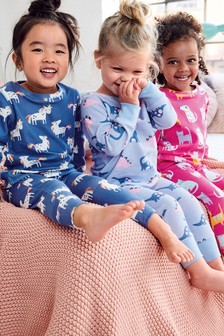 3 Pack Character Snuggle Pyjamas (9mths-12yrs)