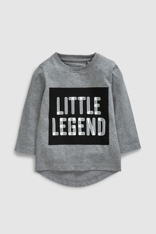 Little Legend Long Sleeve T-Shirt (3mths-7yrs)