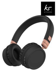 KitSound Harlem Bluetooth Headphones