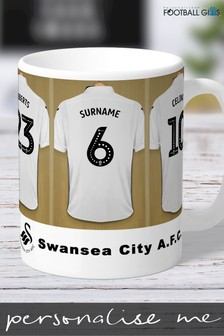 Personalised Swansea City Mug by Personalised Football Gifts