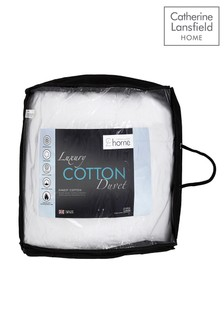 Catherine Lansfield 10.5 Tog Luxury Cotton Duvet