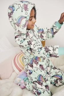 Unicorn Fleece All-In-One (1.5-16yrs)