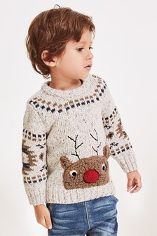 Reindeer Jumper (3mths-7yrs)