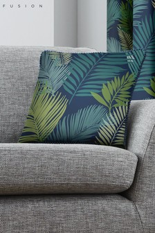 Fusion Tropical Leaf Cushion