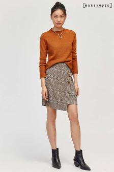 Warehouse Check Pelmet Skirt