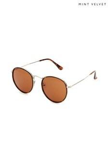 Mint Velvet Rome Metal Insert Sunglasses