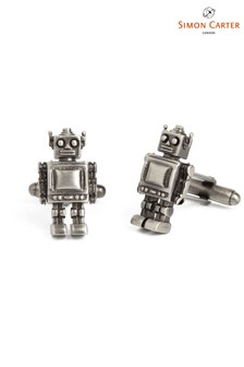 Simon Carter Robot Cufflinks