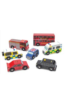 Le Toy Van Wooden London Car Set