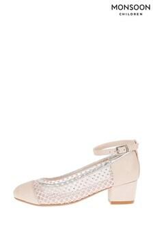 Monsoon Pink Shimmer Princess Shoes