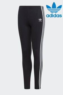 adidas Originals Black 3 Stripe Legging