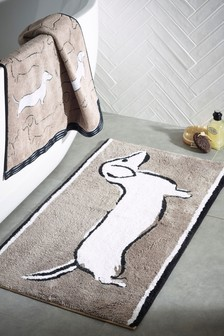 Sausage Dog Bath Mat