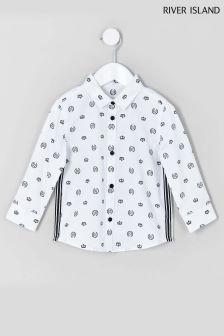 River Island Long Sleeve Crown Shirt