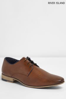 River Island Brown Point Shoe