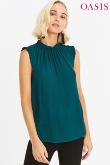 Oasis Green Pie Crust Shell Top