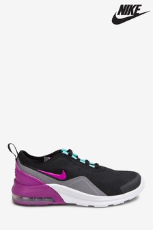Nike Black/Pink Air Max Motion Youth Trainers