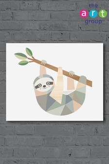 Sloth by Little Design Haus Canvas
