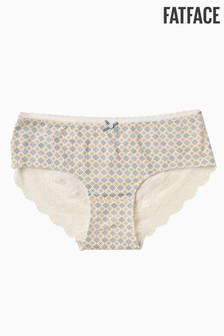 FatFace Cream Geo Floral Boy Short