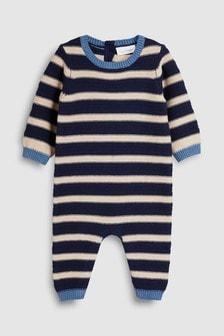 條紋針織連身童裝 (0個月至2歲)