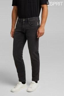 Esprit Black Denim Regular Jeans