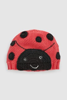 Ladybird Hat (0mths-2yrs)