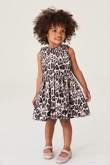 Animal Jacquard Prom Dress (3mths-7yrs)