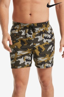 "Nike 5"" Camo Swim Short"