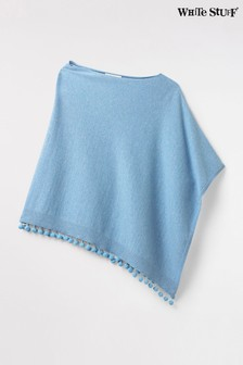 White Stuff Blue Penny Lightweight Poncho