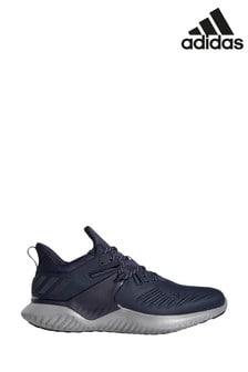 Темно-синие кроссовкидля бега adidas Alphabounce