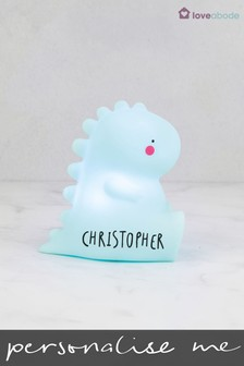 Personalised Tyrannosaurus Night Light by Loveabode