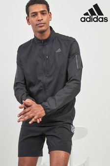 adidas Own The Run Black Jacket