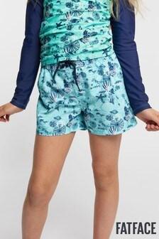 FatFace Under The Sea Board-Shorts, blau