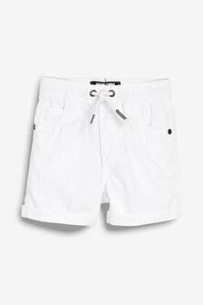 Pull-On Linen Blend Shorts (3mths-7yrs)