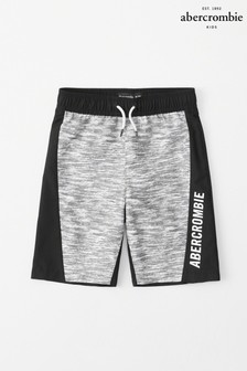 Abercrombie & Fitch Grey Logo Board Short