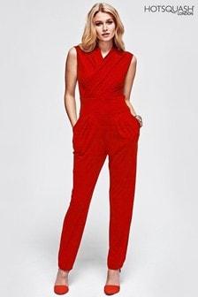 HotSquash Red Jumpsuit
