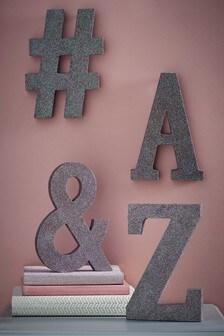 Monogram Glitter Letters