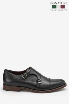Signature Double Monk Strap Shoe