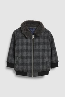 Check Bomber Jacket (3mths-6yrs)