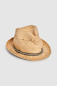 reputable site d9b57 a27ab Neutral Trilby Hat