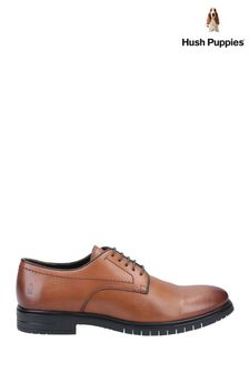 Hush Puppies Brown Sterling Lace Shoes