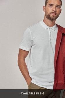 Рубашка поло в рубчик