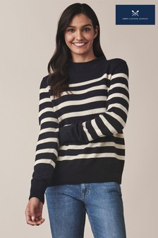 Crew Clothing Blue Twickenham Jumper