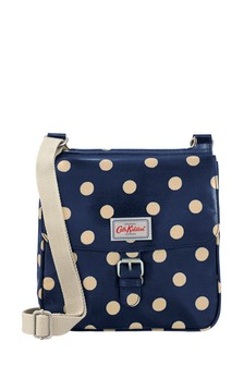 Cath Kidston® Button Spot Tab Saddle Bag