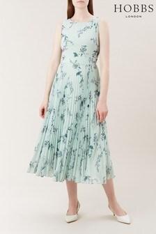 Hobbs Green Celeste Dress