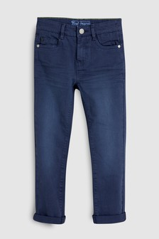 Spodnie rurki z pięcioma kieszeniami (3-16 lat)