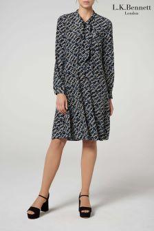 L.K.Bennett Black Lotte Dress
