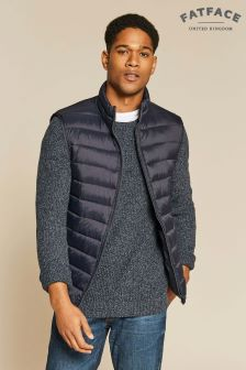 FatFace Blue Truro Padded Gilet