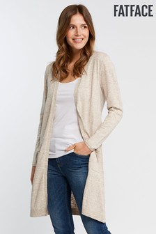 FatFace Natural Organic Lucy Longline Cardigan