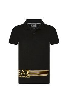 EA7 Emporio Armani Cotton Polo Shirt